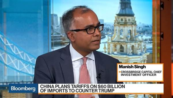 Crossbridge Capital CIO Sees 'Much Better Returns' in U.S. Stocks: Manish Singh