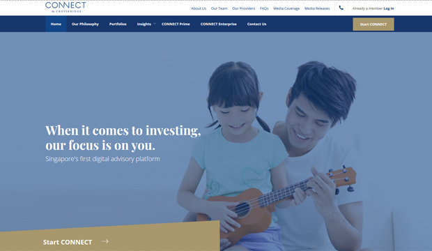 CONNECT by Crossbridge once again reinvents the wealth management game