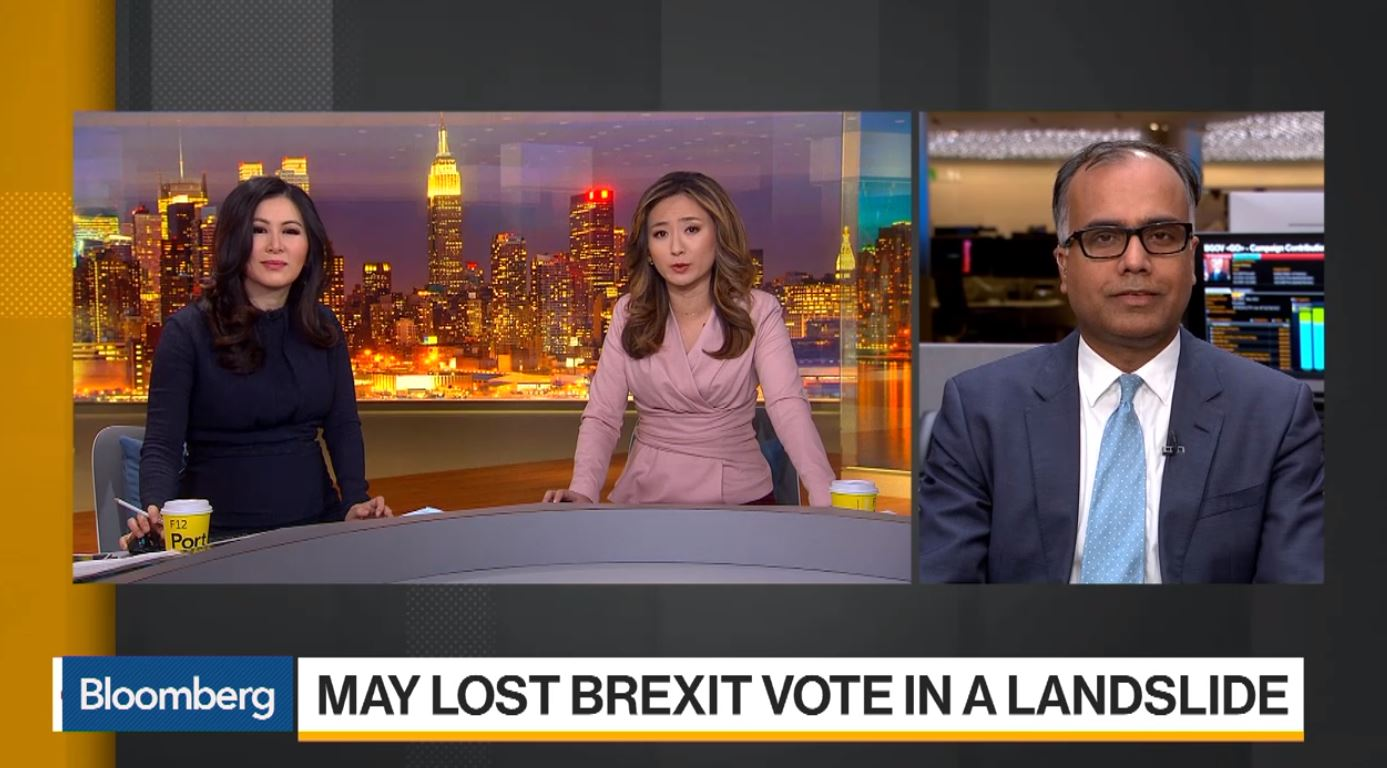 U.K. will leave EU with a deal: Manish Singh